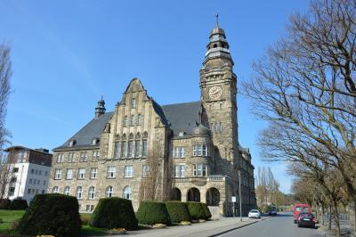 Das Rathaus in Wittenberge I Foto: Martin Ferch