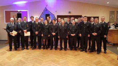 Foto zur Meldung: Gemeinsames Feuerwehrfest 2020 im Gasthof Paulsen auf Hogelund