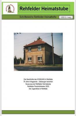 Foto zur Meldung: Rehfelder Heimatheft 1/2020 erschienen