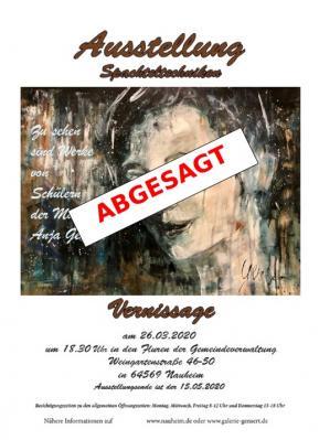 """Foto zur Meldung: Absage der Ausstellung und Vernissage """"Spachteltechniken"""""""