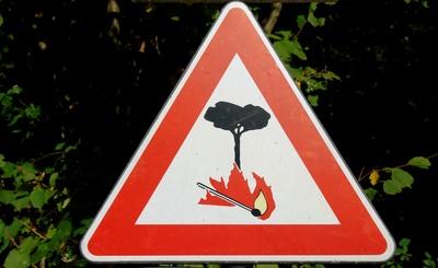 Vorschaubild : Aktuell Waldbrandgefahr Stufe 4 in MOL