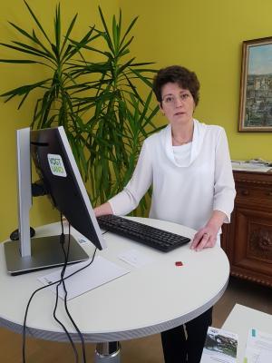 Vorschaubild zur Meldung: Live-Ansprache der Bürgermeisterin zur Situation in Rodewisch (v. 24.03.2020)