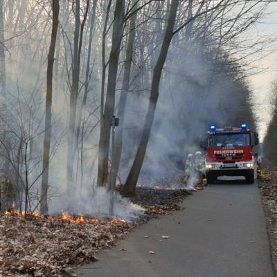 Vorschaubild zur Meldung: Waldbrandgefahr steigt