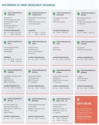 Vorschaubild zur Meldung: Grüngutannahmestellen öffnen ab dem 01. April 2020