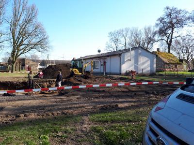 Foto zur Meldung: Kurzinformation- Zinndorfer Feuerwehr wird gebaut