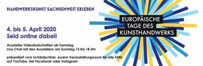 Bild der Meldung: Europäische Tage des Kunsthandwerks in Leipzig 2020 - virtuell!