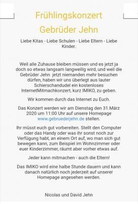 InternetMitmachkonzert