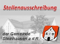 Vorschaubild zur Meldung: Stellenausschreibung - Reinigungskraft Rathaus Steinhausen