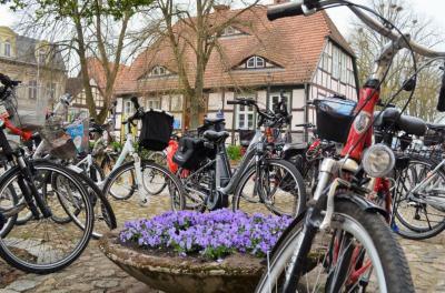Stadt Perleberg | Anradeln nach Bad Wilsnack 2019