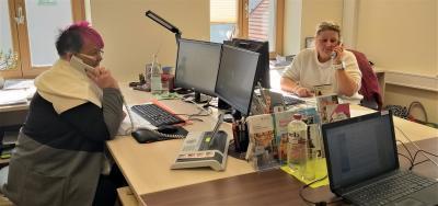 Stadt Perleberg | Mitarbeiterinnen unterstützen bei Unternehmensanrufen