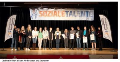 Foto zur Meldung: Soziales Talent 2020