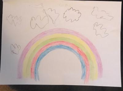 Foto zur Meldung: Aktion Regenbogen