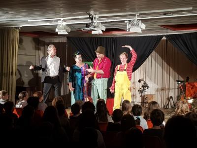 """Foto zur Meldung: Aufführungen des Musiktheaters """"Hau ab du Angst!"""" waren erfolgreich!"""