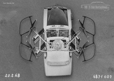 Testflug einer /8 Drohne im Frühjahr 1968