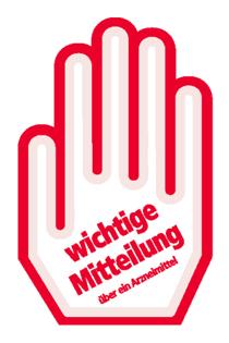Rote-Hand-Brief © Arzneimittelkommission der Deutschen Apotheker