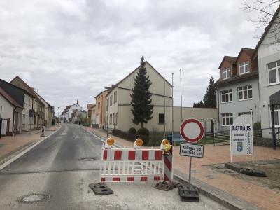 Foto zur Meldung: Friedensstraße zu Ostern ?wieder auf