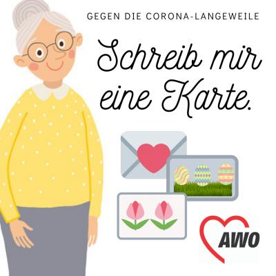 #SchreibMirEineKarte (c) AWO Unterfranken