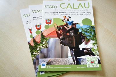Foto zur Meldung: Neue Infobroschüre in den Calauer Briefkästen