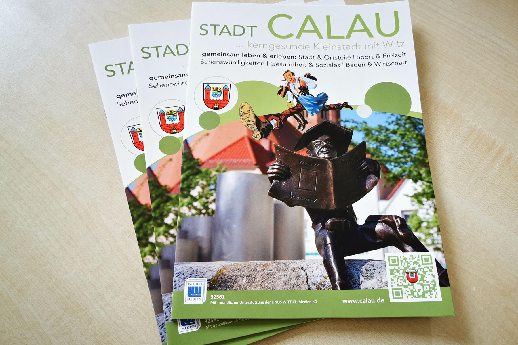 Bild der Meldung: Neue Infobroschüre in den Calauer Briefkästen