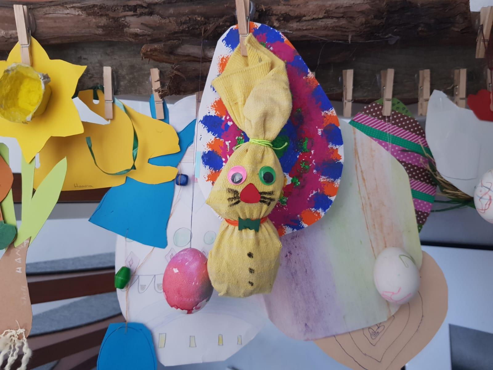 Bild der Meldung: Osterhäschen basteln mit Hanna - Unser YouTube Kanal