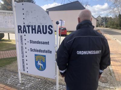 Foto zur Meldung: Landkreis legt Bußgelder bis 25.000 Euro fest bei Verstoß gegen Eindämmungsverordnung