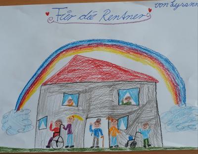 Foto zur Meldung: Regenbogen von Lysanne - Kl. 3