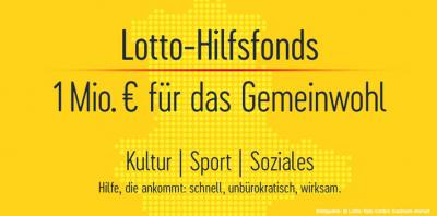 Foto zur Meldung: LOTTO Sachsen-Anhalt stellt 1 Mio. Euro für das Gemeinwohl bereit