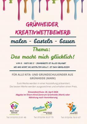 Vorschaubild zur Meldung: Kreativwettbewerb für Kinder