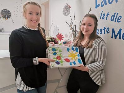 Foto zur Meldung: Besondere Ostergrußkarten von kleinen Freudeschenkern