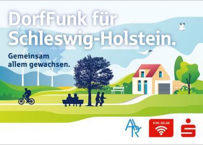 Vorschaubild zur Meldung: DorfFunk Schleswig Holstein APP