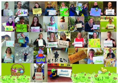 Bild der Meldung: Wir wünschen euch gesunde Osterferien!