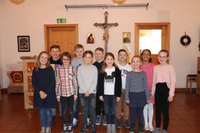 Foto zur Meldung: Vorstellung der Kommunionkinder war im Gottesdienst nicht möglich