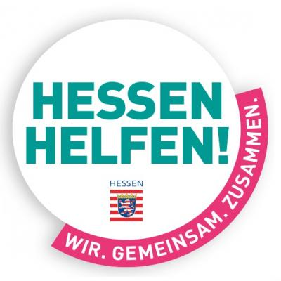 Logo Hessen helfen!