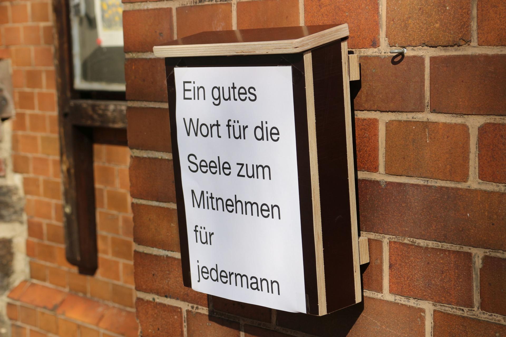 """Bild der Meldung: """"Hoffnung To Go"""" von der Evangelischen Kirche"""