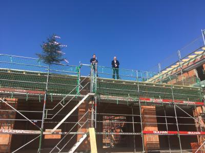 Foto zur Meldung: Neues Feuerwehrhaus in Creußen