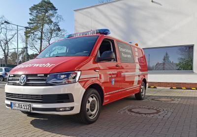 Foto zur Meldung: Neuer Einsatzleitwagen für die Freiwillige Feuerwehr