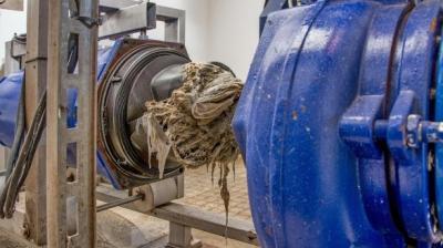 Foto zur Meldung: Abwasserzweckverband Schwabachtal warnt: Keine Feuchttücher in Kanalisation werfen