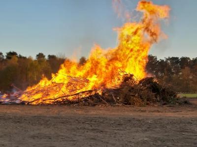 Vorschaubild zur Meldung: Private und öffentliche Osterfeuer bleiben verboten!