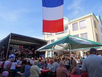 Foto zur Meldung: Besuch einer Delegation in Charvieu-Chavagneux 2020