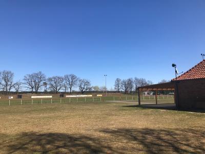 Foto zur Meldung: Groß Laasch - Sportplatz wieder geöffnet