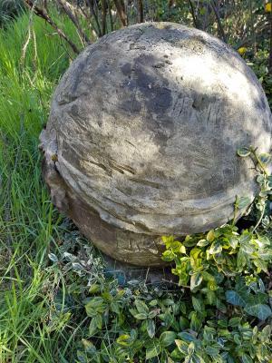 Gefunden: ein Teil der einstigen Stele vom Begräbnisberg. Vielleicht bald in Rogätz.