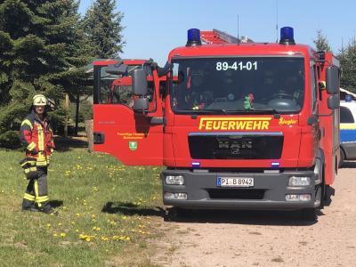 Staffellöschfahrzeug der FF Bullenkuhlen