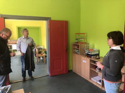Foto zur Meldung: Renovierungsarbeiten in Kloster Lehniner Kitas