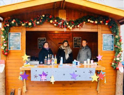 Bild der Meldung: Weihnachtshäuschen auf dem Seelower Weihnachtsmarkt