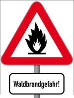 Bild der Meldung: Achtung! Erhöhte Waldbrandgefahr!