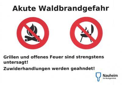 Foto zur Meldung: Grillverbot auf öffentlichen Frei- und Grünflächen