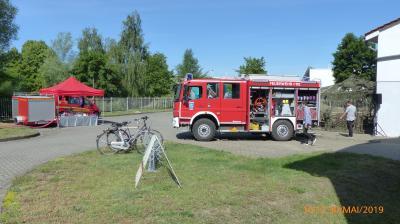 Himmelfahrt bei der Feuerwehr Seelow