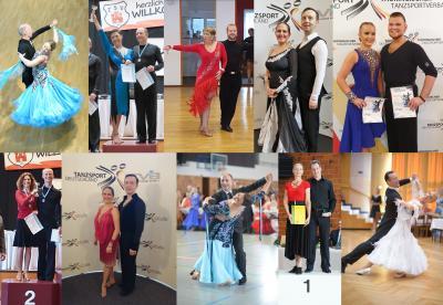 Die glücklichen Tänzer des TC Blau-Gold