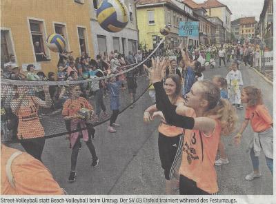 Foto zur Meldung: Kuhschwanzfest - Umzug