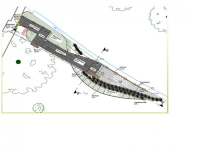 Quelle: Entwurfsplanung des Planungsbüros Subatzus & Bringmann GbR, Büro für Baumbegutachtung und Landschaftsarchitektur, Lindenstr. 31 in 01983 Großräschen OT Dörrwalde